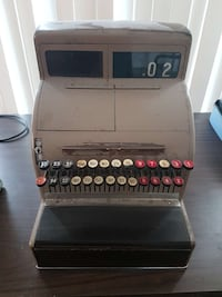 grey and black vintage cash register Scarborough, M1V