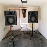 Ev Sx500 Speakers and Stands  Las Vegas, 89145
