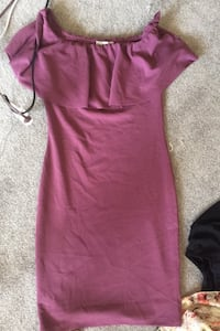 Large purple bodycon dress Edmonton, T5T