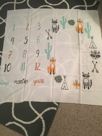 Month day year blanket