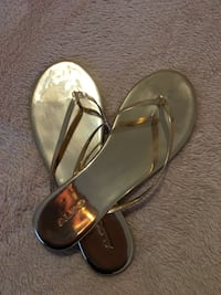 Brand new Rose Gold sandals size 10
