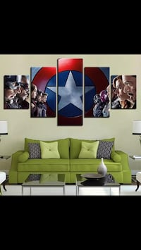 Marvel Canvas Paintings Print/Picture  Calgary, T2Y 2Z8