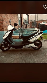 white and black motor scooter Richmond Hill, L4C 9N5