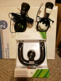 Xbox 360 Wireless Speed Wheel & Gaming Headsets