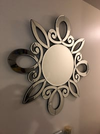 Wall mirror from urban barn