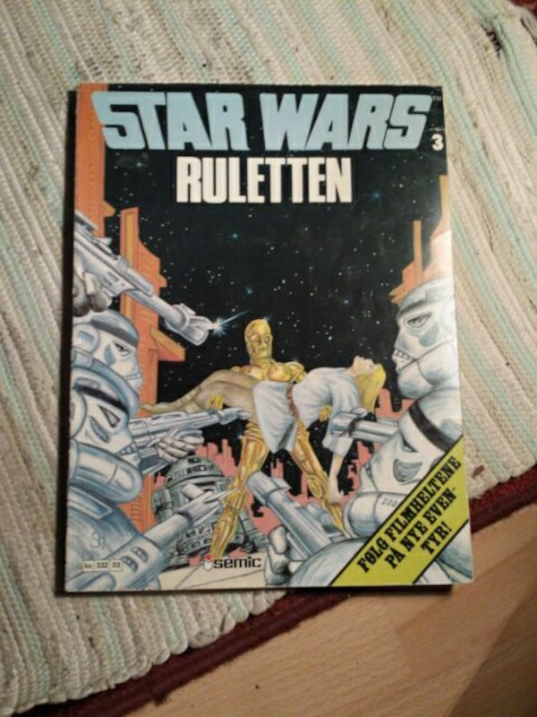 Star Wars Ruletten bok