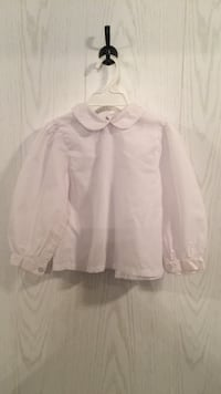"baby girl, ""Rosalina"" white button up shirt Tuscaloosa, 35405"