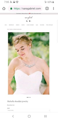 Sara gabriel bridal shoulder jewelry $507.00 Henderson, 89011
