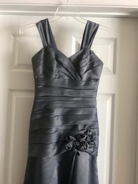 Mermaid gray dress