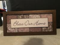 Wall Art - Bless Our Home