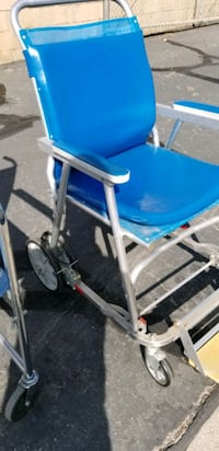 Wheel chair for the patio