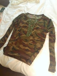 brown and green camouflage shirt Winnipeg, R2W 3T4