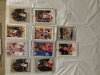 nine assorted football trading cards El Centro, 92243