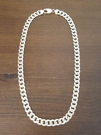 .925 STERLING SILVER CUBAN LINK CHAIN / NECKLACE!