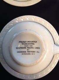 Vintage Prairie mountain wildflowers made for southern pacific lines  Redding, 96002