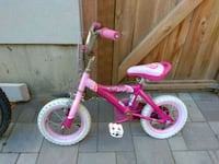 Girls pedal bike (ages 3-5) Vancouver, V5P 4M4