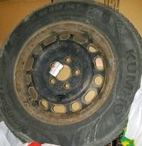 Winter tires and rims  Markham