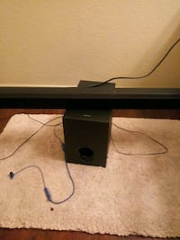 Sony Bluetooth surround sound system but no remote works great though Las Vegas