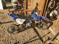 125 coolster bike will not go lower then 600 Victorville