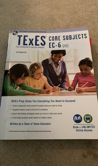TEXES core subjects ex-6 book