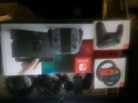 Nintendo switch with accessories & games Vancouver, V5L 1H3