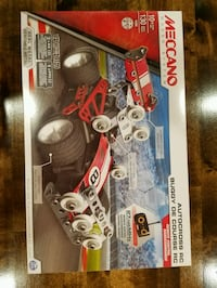 Meccano building set, never opened sells for over 40.00