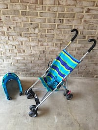 Teal, yellow and blue stroller Fairfax, 22032