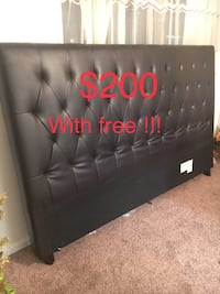 LEATHER KING HEADBOARD  Falls Church, 22041