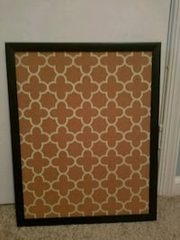 Decorative office cork board Montclair, 22025