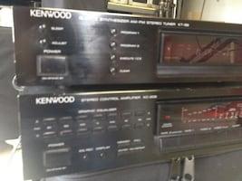 Kenwood pre-amp and tuner