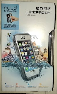 LifeProof Nüüd Case for 5/5s White Castle, 70788