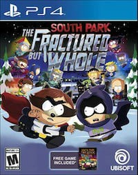 The Fractured But Whole Sony PS4 game illustration Washington