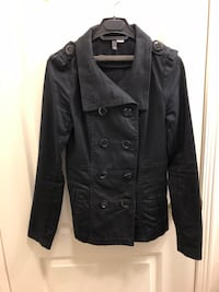 H&M Women's Trench Coat, Black, Size 4, $30