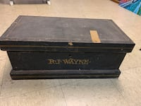 Antique RJ Wayne Carpenter Tool Box Norfolk, 23503