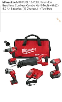 Milwaukee M18 FUEL 18-Volt Lithium-Ion Brushless C Chantilly, 20151