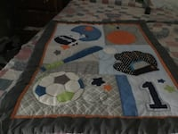 Crib comforter and matching bumpers Billerica, 01821