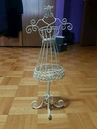 Jewelry Hanger white metal dress form  Kitchener, N2A 1J1