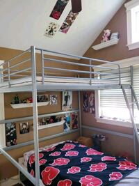 Used Ikea Full Size Loft Bed For Sale In Sayville Letgo