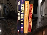 Beer Brewing books (4) in Columbia Maryland Columbia
