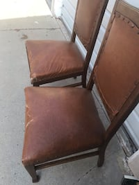 Vintage chairs 2 $15  see the pic  Los Angeles, 90025