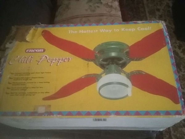 Encon Chili Pepper Ceiling Fan Box Homeother North Port