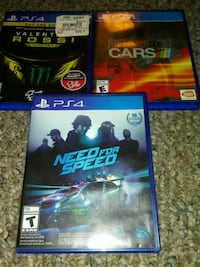 Ps4 racing game lot Reading, 19606