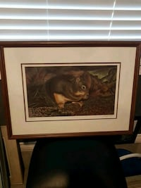 Signed george shea limited edition West Kelowna