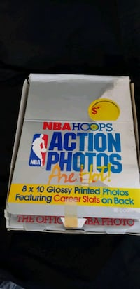 Action photos sports cards