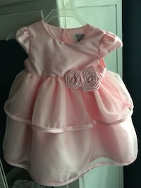 NWOT Baby girl pink sleeveless dress Greeneville