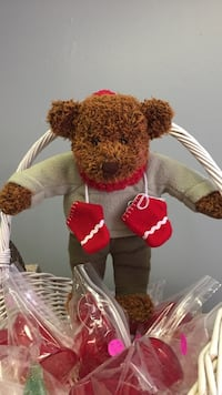 red and white bear plush toy East Berlin, 17316