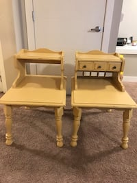 two brown wooden side tables Edmonton, T5T 2B5
