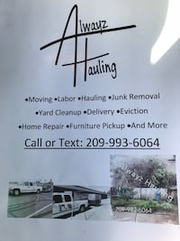 Hauling junk removal delivery