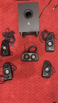 Surround sound speaker set Laredo, 78045