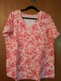 """Size 18/20 (L) """"Woman Within"""" Shirts Clinton, 53525"""